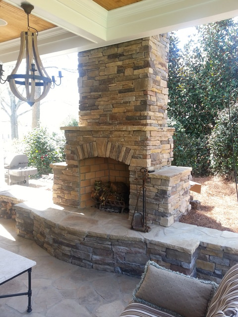 Outdoor Fireplaces (Centurion Stone)