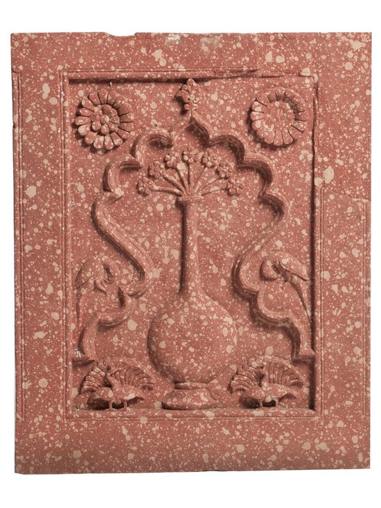 Antique Stone Panel From Agra -