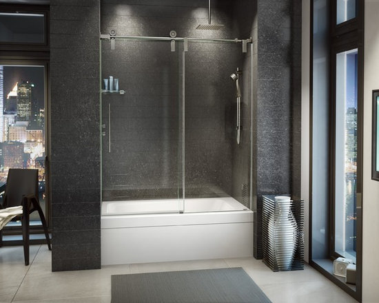 """Fleurco Kinetik In-Line Tub KS 57""""- 60"""" Door with Panel KS057 - *Custom sizes available. Please call for more information*"""