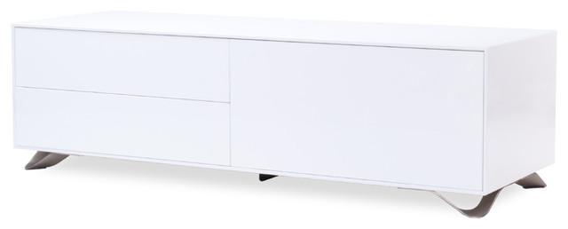 Boomerang White Sideboard Medium-Large modern-buffets-and-sideboards