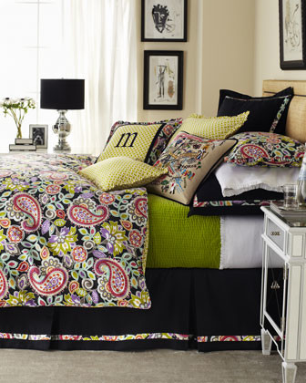 "Legacy Home Twin Floral/Paisley Duvet Cover, 68"" x 86"