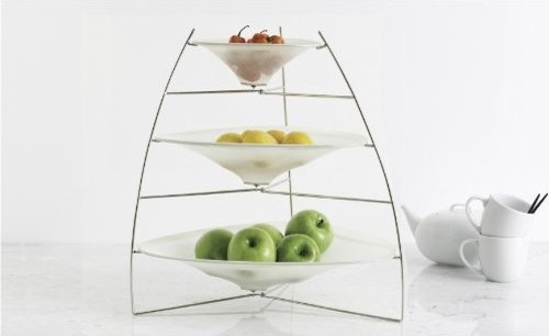 Chilewich Ray Tray, White modern-serveware