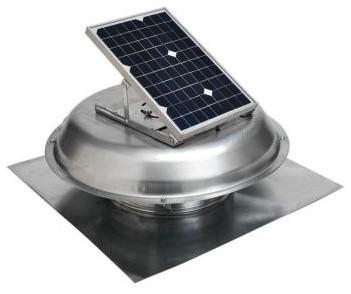 Master Flow 10 Watt Solar Powered Roof Mount Exhaust Fan