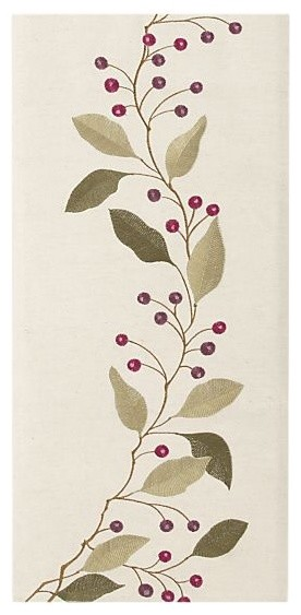 """Rona Sage 14""""x60"""" Runner contemporary-tablecloths"""