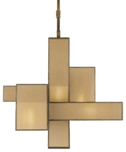 Perspectives No. 731840 Chandelier by Fine Art Lamps contemporary-chandeliers