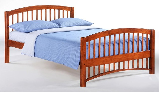 Molasses Full Bed in Cherry contemporary-kids-beds