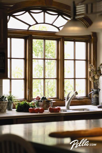 Pella architect series casement windows contemporary for Pella casement window screens