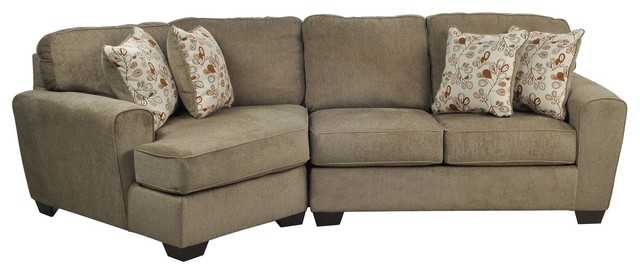 Patola Park 2 Piece Sectional Contemporary Sectional Sofas Los Angeles By Living Spaces
