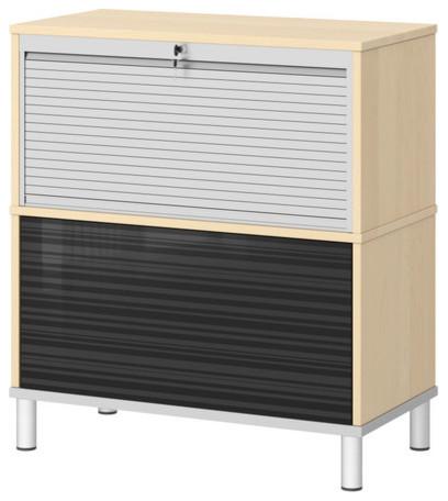 EFFEKTIV Storage combination on legs - Modern - Storage Units And Cabinets - by IKEA