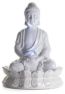 Ceramic Buddha Fountain Modern Indoor Fountains By Z