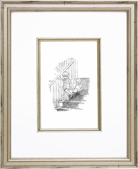 Classic Pooh XI Vintage English Framed Print by Art For Kids, Posters & Prints, artwork