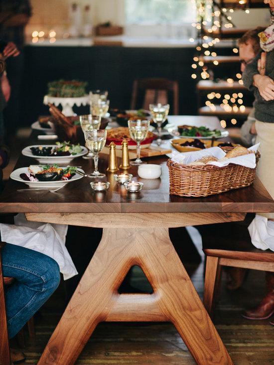 Clayton Thompson - Century Table + Bridge Chair - photo: Ashley Thalman