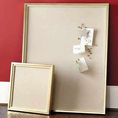 Linen message board traditional bulletin board by for Linen cork board