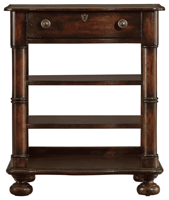 European Farmhouse En Plein Air Bookstand, Terrain traditional-nightstands-and-bedside-tables