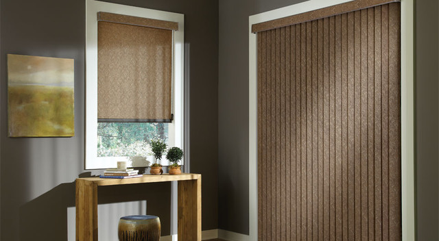 Custom Vertical Blinds And Screen Shade