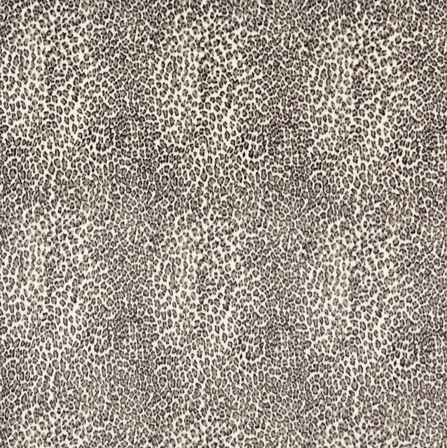 E402 Leopard Animal Print Microfiber Fabric Contemporary Upholstery Fabri