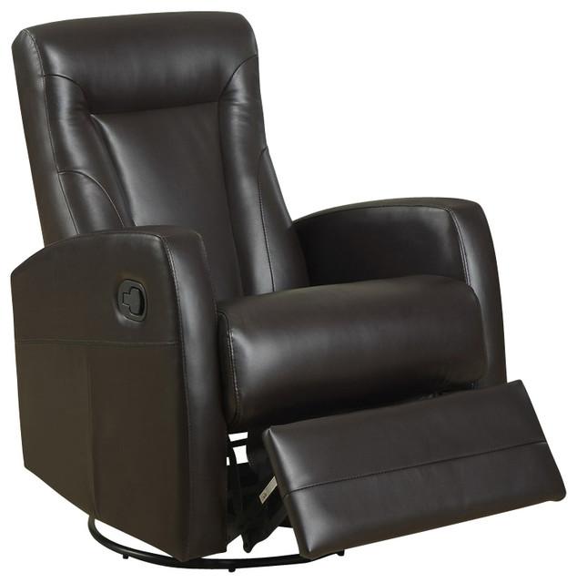 leather swivel rocker recliner chair