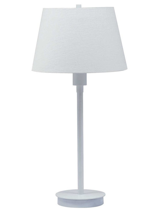 House of Troy Generation Collection Table Lamp White - House of Troy (Made in the USA) Generation Collection Table Lamp White. Features Full Range Dimmer Switch. For more than 40 years, House of Troy has handcrafted Desk Lamps, Piano Lamps and Picture Lights in the great state of Vermont. House of Troy's reputation for craftsmanship, quality materials, and customer service make these items a value unsurpassed in the lighting industry.