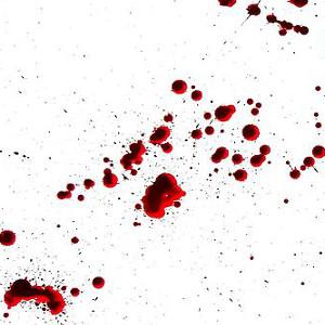 dexter blood splatter poster - photo #10
