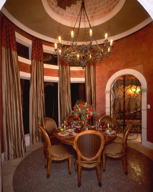 Wine rooms by stadler custom homes mediterranean for Wine rooms in homes