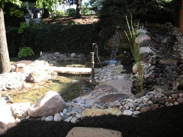 Koi Ponds eclectic-landscape