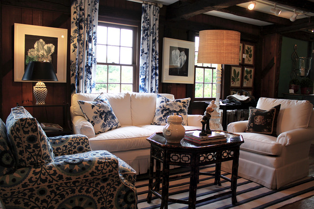 Sandra John Interiors traditional family room