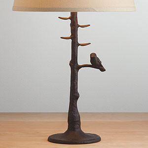 Woodlands Table Lamp Base eclectic-lamp-bases