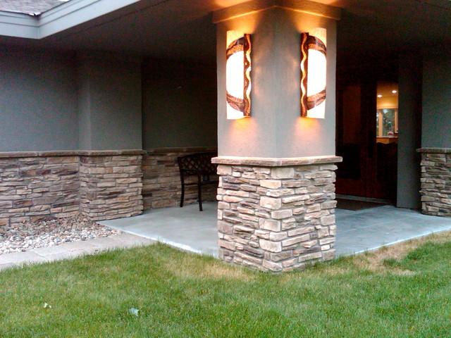 Exterior Wall Sconce Lighting eclectic