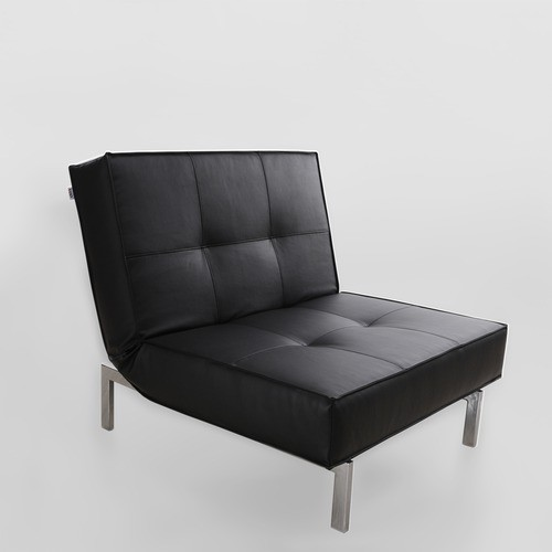 sofa bed 03 single futon chair modern sleeper chairs by allmodern. Black Bedroom Furniture Sets. Home Design Ideas