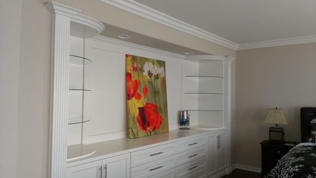 Bedroom Wall Unit contemporary