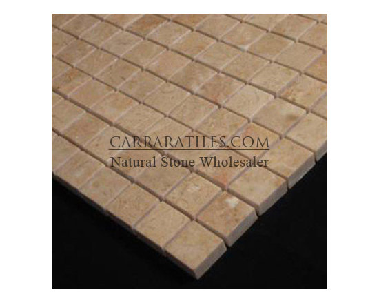 Crema Marfil Marble 1x1 Mosaic Tile Polished - Crema Marfil Marble 1x1 Mosaic Tile. Premium grade marble 1x1 mosaic tile is perfect for both residential and commercial projects. Marble 1x1 Mosaic Tiles are mainly preferred as floor tiles for their clean, aesthetic qualities. A large selection of coordinating products are available, including Crema Marfil basketweave mosaics, Crema Marfil herringbone mosaics, Crema Marfil hexagon mosaics, 3x6 Crema Marfil marble subway tiles, 12x12 Crema Marfil marble tiles, 4x4 Crema Marfil marble tiles, Crema Marfil borders, Crema Marfil moldings and Crema Marfil baseboards, each available in polished finish.