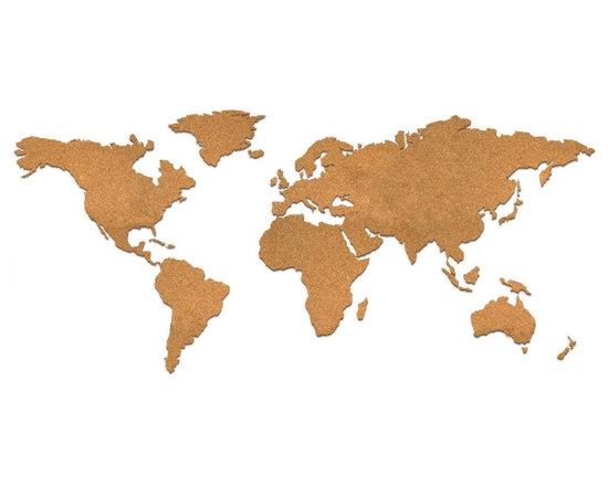 Corkboard Map -