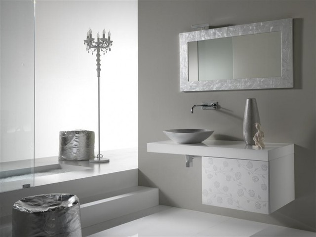 Italian Bathroom Vanities NEA Italia Model Klimti Modern