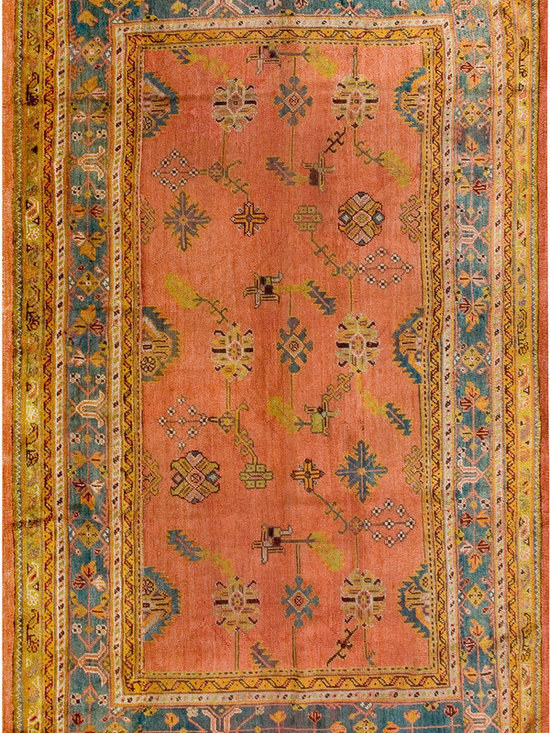 Antique Turkish Oushak Carpets - #19062