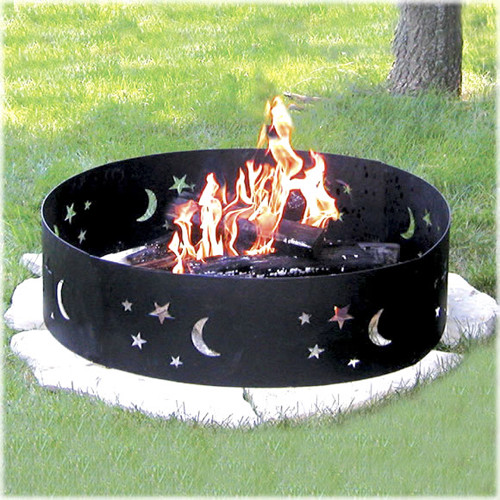 Evening Sky Campfire Ring  firepits