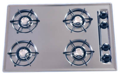 """30"""" Gas Cooktop, Battery Ignition modern-gas-ranges-and-electric-ranges"""