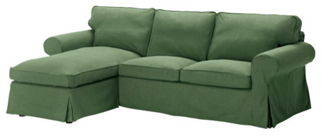 Ektorp Cover For Loveseat With Chaise Modern Sectional Sofas By Ikea