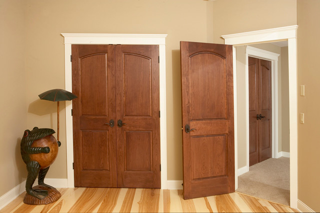 Curved Common Arch 2 Panel Doors with Raised Panels - minneapolis - by ...