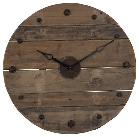 Salvage Clock eclectic-clocks