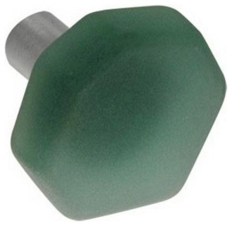 Sea Glass Knob, Sea Foam beach-style-cabinet-and-drawer-knobs