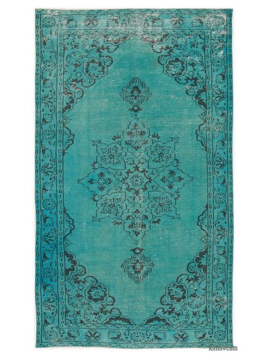 Over-dyed Anatolian Vintage Rug -