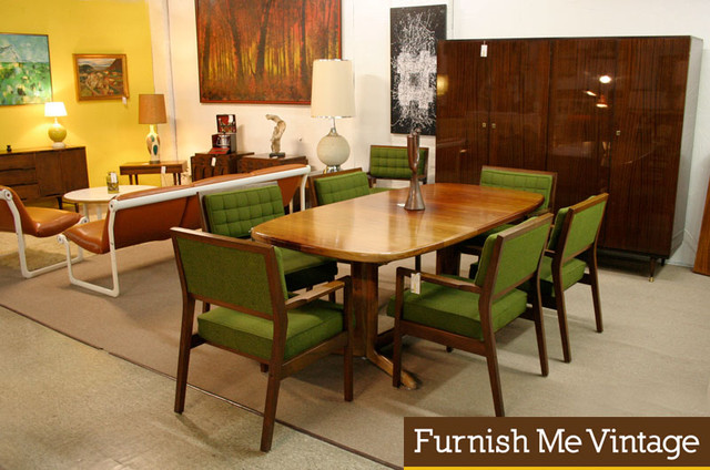 vintage danish modern dining room modern tampa by