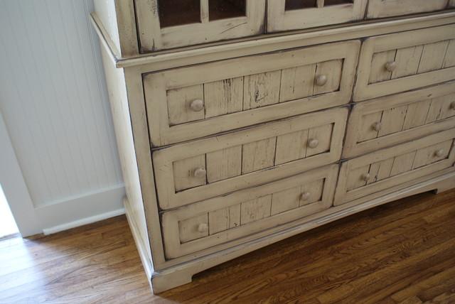 Ryan china cabinet finish close up beach-style-china-cabinets-and-hutches