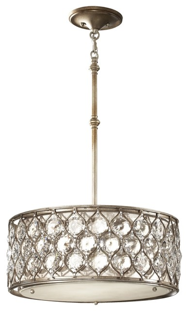 Murray Feiss Lucia Modern / Contemporary Crystal Pendant Light X-SUB3/8652F contemporary-pendant-lighting