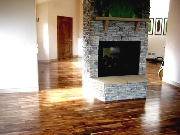 Solid Acacia Blonde/ Prefinished traditional-hardwood-flooring
