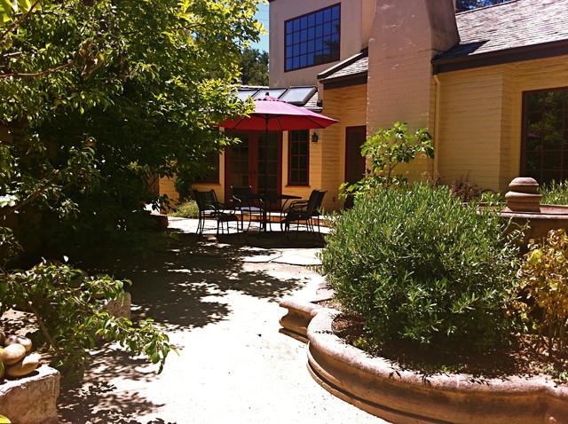 Palo Alto Residence Mediterranean Patio San