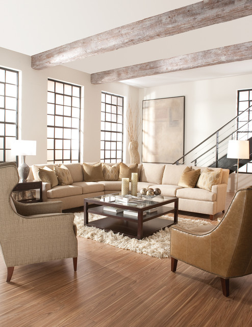 Houzz living rooms with sectionals