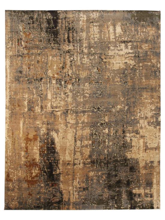 Unique modern rugs - Digital Age N10405
