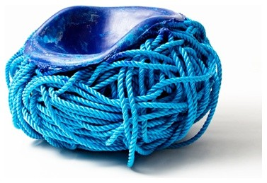 Blue Rope, Meltdown Chair contemporary outdoor chairs