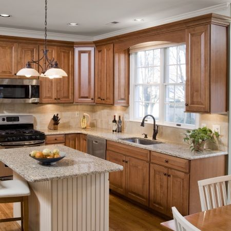 French Country Kitchen Cabinet Restoration - Contemporary - by Let's ...